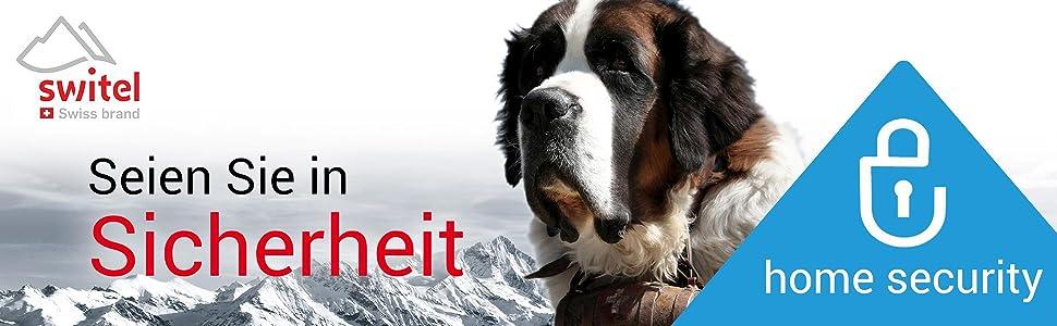 Switel,Swiss brand,Security,HSIP6000,HS2000,COIP150,Überwachungskamera,Nachtsicht