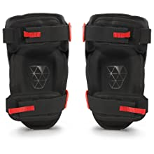05d2b18fe8 Comfortable, Perfect Fit. Thigh and calf straps comfortably hold knee pads  in place. Professional Black Foam Thigh Support Stabilization Safety ...