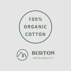 cotton shirt tshirt burton mens apparel soft organic sustainable