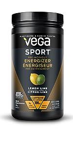Pre workout energizer energy