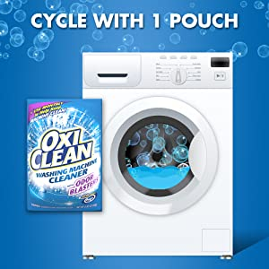 Amazon Com Oxiclean Washing Machine Cleaner With Odor