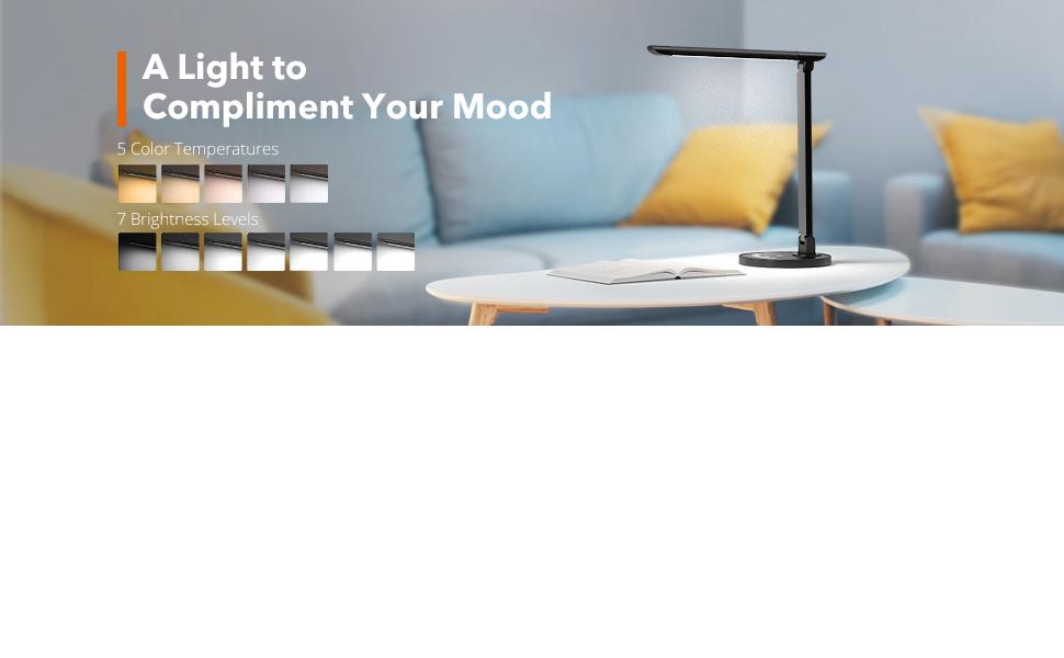 Amazon Com Taotronics Tt Dl13b Led Desk Lamp Eye Caring