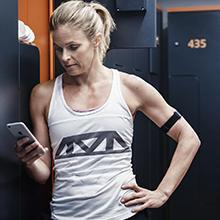 TrPolar OH1, Polar, Armband, heart rate monitor, heart rate sensor, trainain with an App, OH1, Polar