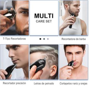 NAVANINO Cortapelos Profesional Hombre, Barbero Electrico Cortador ...