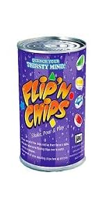 Flip, chips, matching, memory, shapes, colors, game