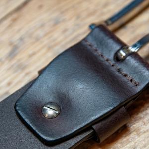 Cinturón de piel activa, cinturón de piel, cinturón de camel, cinturón ajustable