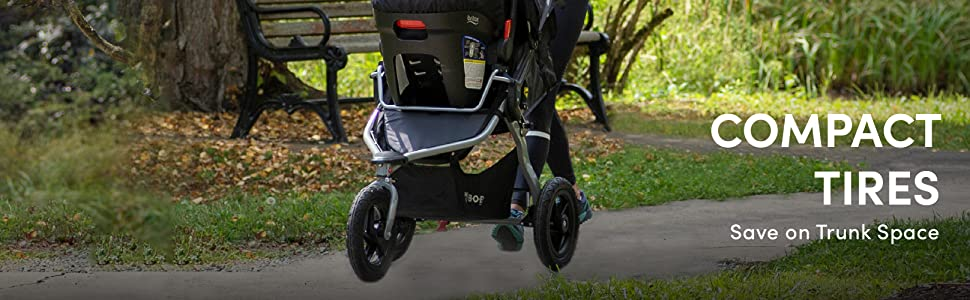 BOB Gear Rambler Travel System - Compact Tires