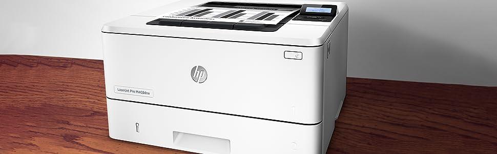 HP Laserjet Pro M402dne - Impresora láser Monocromo (A4 Negro ...