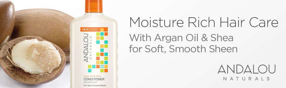 Andalou Naturals Argan Oil & Shea Moisture Rich Conditioner 11.5 Ounce