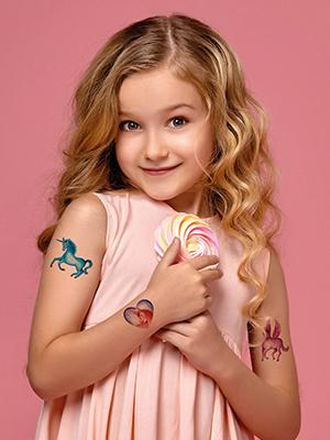 Tatoeages voor kinderen.