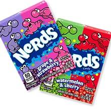 Nerds original grape and strawberry candy