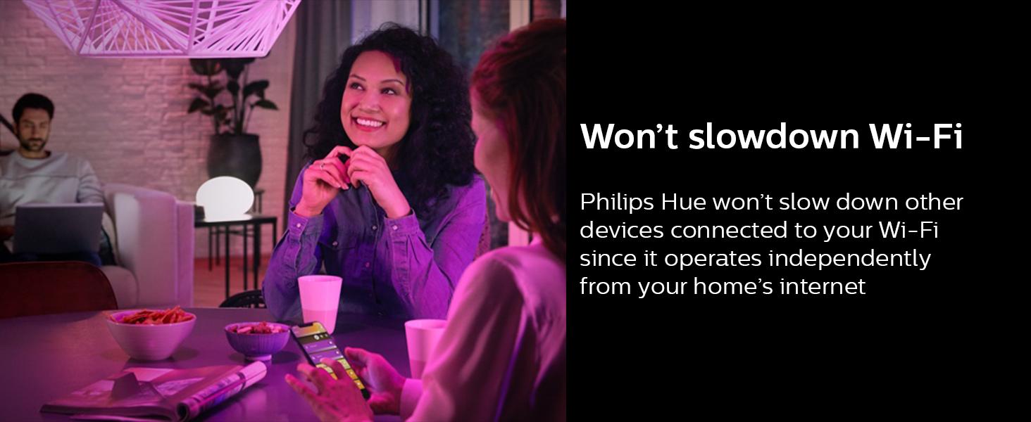 Philips;Hue:Hub;Bridge;LED;connected lighting;smart lights;smart home;in and outdoor;50 lights;app