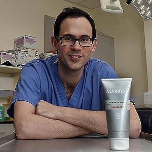 dr andrew birnie, altruist, dermatologist