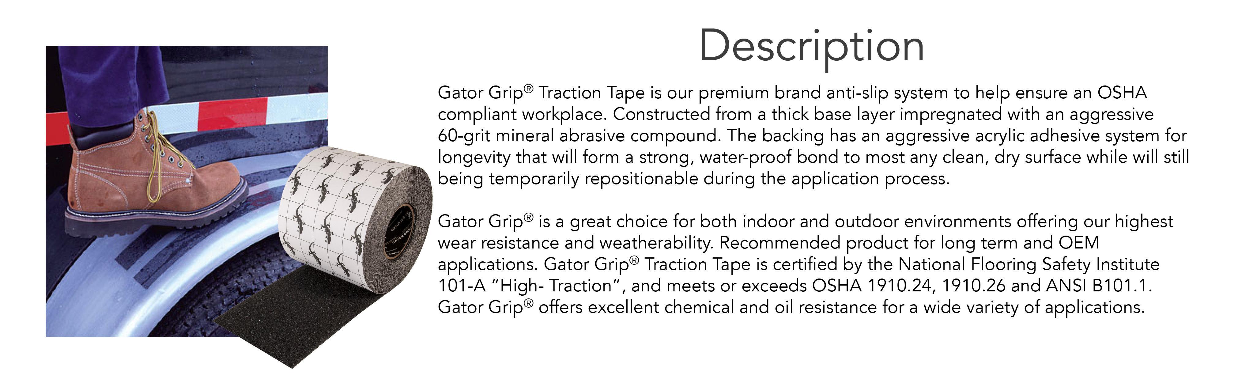 Anti Slip Compound : Gator grip anti slip tape quot  black amazon