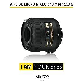 AF-S DX Micro NIKKOR 40 mm 1:2,8G