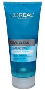 feaa64bfe53 Amazon.com  L Oreal Paris Ideal Clean Foaming Gel Facial Cleanser ...