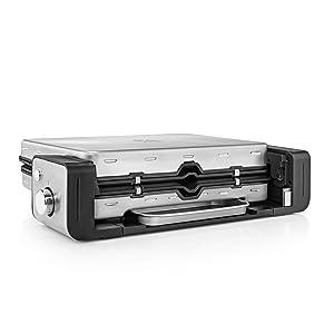 WMF Lono Contact Grill 2 en 1, 2100 W, 2 placas de aluminio ...