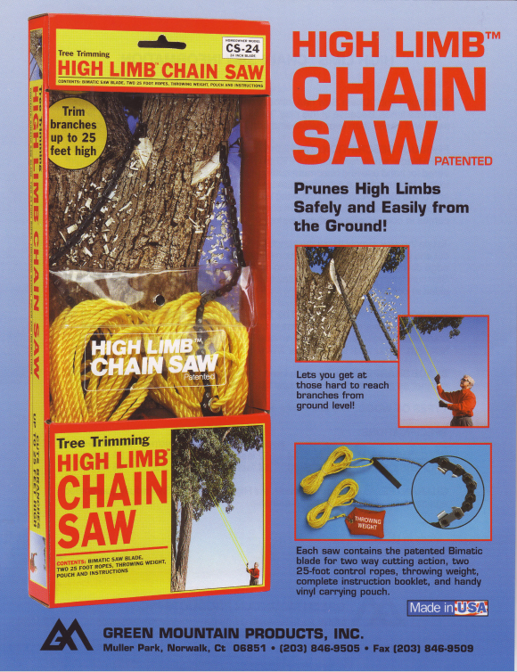 Amazon high limb brand cs 48 rope and chain saw camping saws our high limb chainsaw comes in 4 sizes greentooth Images