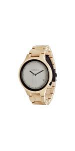Kerbholz, Armbanduhr, Uhr, Holzuhr, Holz