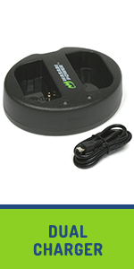 Dual USB charger,