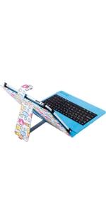 SilverHT - Funda universal con teclado para tablet de 9 ...