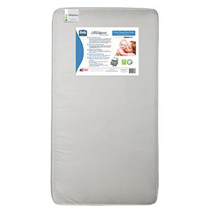 simmons kids crib toddler mattress waterproof baby infant