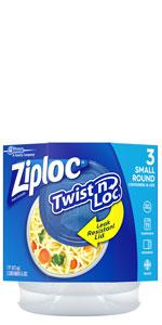 Ziploc Small Twist 'n Loc Container