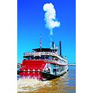 Mississippi, River, Paddle Boat