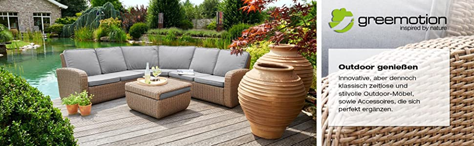 greemotion ausziehtisch malm grau tisch mit sicherheitsglasplatte esstisch f r in und. Black Bedroom Furniture Sets. Home Design Ideas