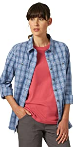 RIGGS Workwear Long Sleeve Two Pocket Work Shirt
