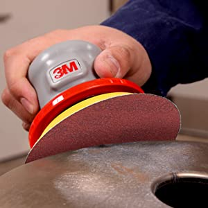 5 Diameter P800 Grade Pack of 50 5 Diameter 051141556727 Aluminum Oxide 3M Hookit Film Disc 375L