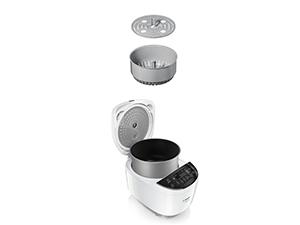 Bosch AutoCook MUC11W12 - Olla exprés eléctrica, Acero Inoxidable, Bol de 5 L, 940 W: Amazon.es: Hogar