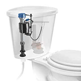 Fluidmaster 400arhrls Performax High Performance Toilet Fill Valve With Leak Sentry Automatic Leak Prevention Toilet Flush Valves Amazon Canada