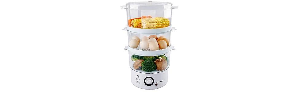 oster food steamer bella basket baby aroma hamilton beach bpa free chinese drawer digital hotdog