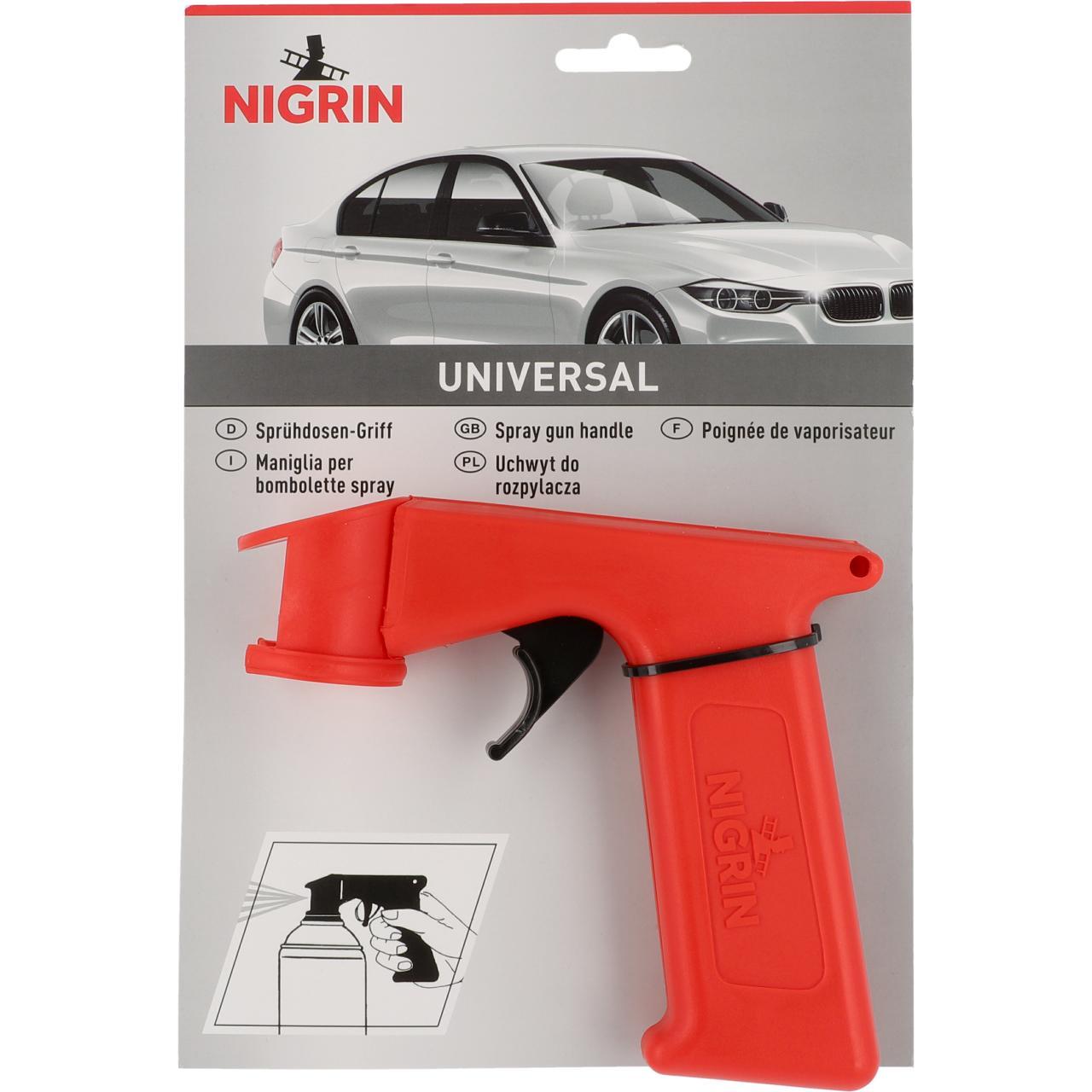 Nigrin 74111 Sprühdosen Handgriff Universal Auto