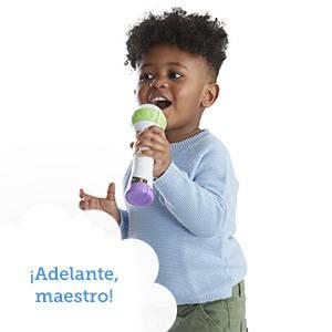 Los niños pueden divertirse cantando con Puppy y grabando sus propias voces