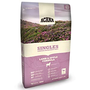 ACANA Singles Limited Ingredient Diet Lamb & Apple Dog Food, 25 LB