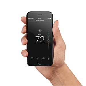 apple iphone ebay ecobee4 enabled thermostat with sensor ebay 6152