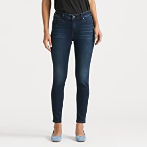 Ava Mid-Rise Skinny, womens lucky brand jeans, lucky brand womens jeans, skinny jeans for women,