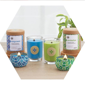 aromatherapy beeswax candles essential oils