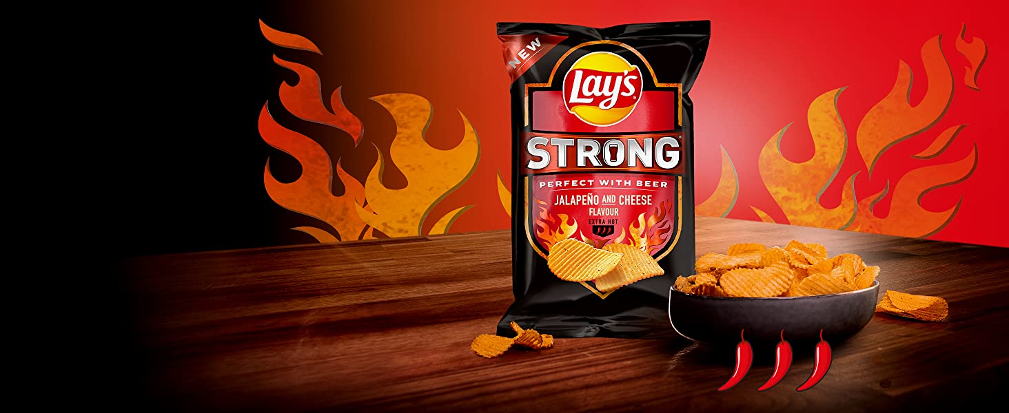 Lay's Strong Jalapeno Cheese