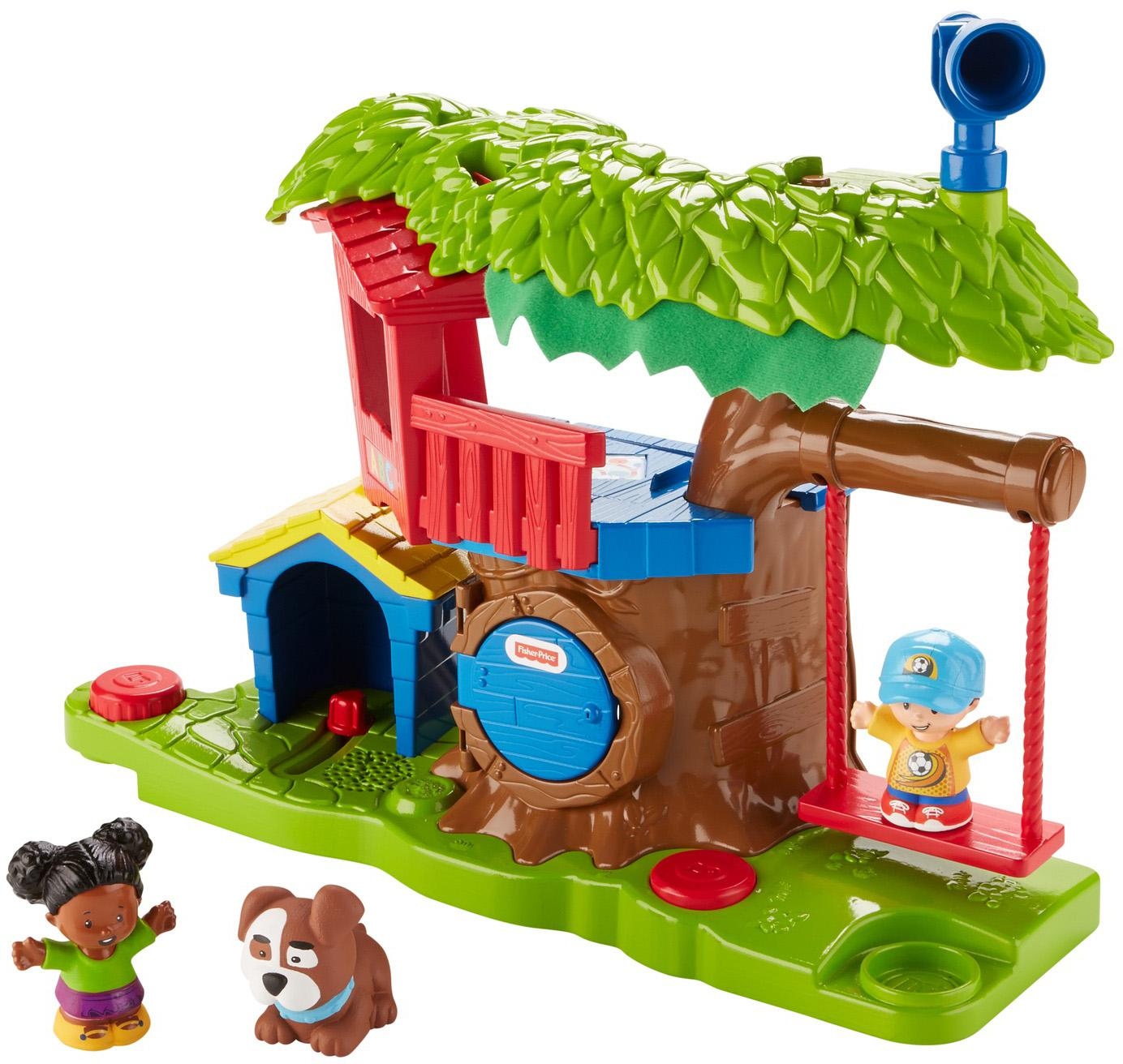 Amazon.com: Fisher-Price Little People Swing & Share ...