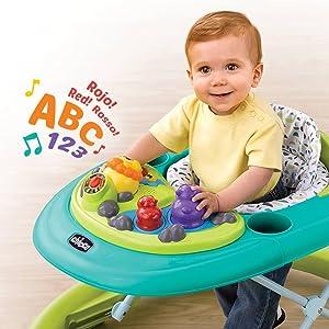 Amazon.com: Chicco Walky Talky Baby Walker, Flora, Flora: Baby