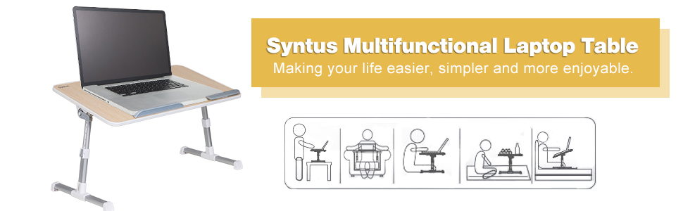 Syntus Multifunctional Laptop Table