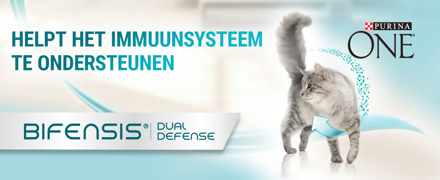 Purina ONE kattenvoer. Kattenbrokken en kat natvoer voor zichtbare gezondheid