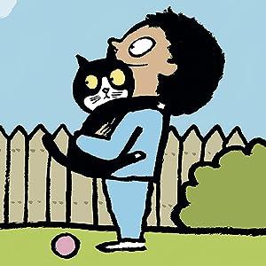pedro el gato, peter le chat, bruno the cat, álbum ilustrado, jean jullien, libro gatos, cuento gato