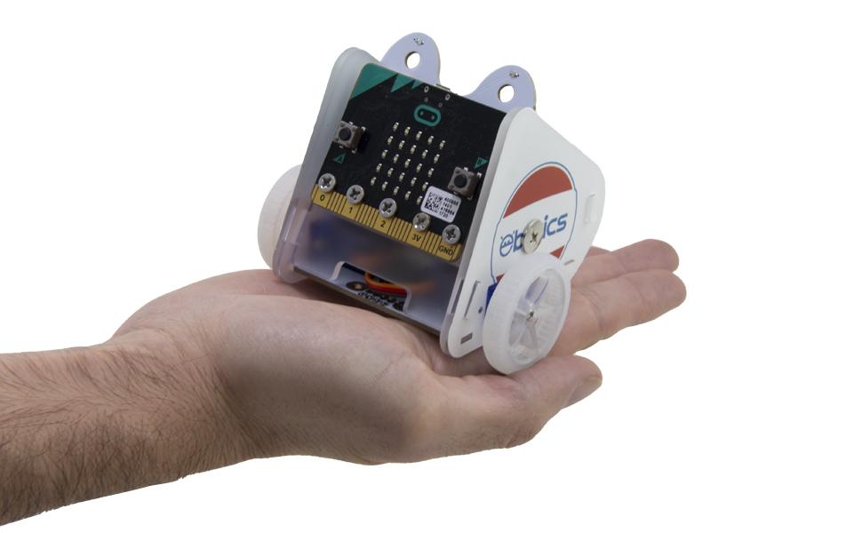 Amazon.es: EBOTICS- MIBO Robot ELECTRÓNICA Y PROGRAMACIÓN con Placa BBC Micro:bit (Atlantis Internacional BXMIBO)