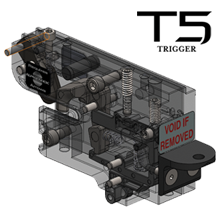 TenPoint T5 Trigger is included in Nitro XRT crossbow.