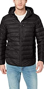 Packable Down Jacket with Hood