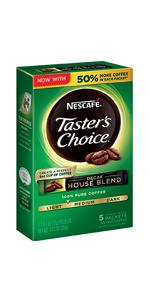 instant coffee, decaf coffee, nescafe, taster's choice